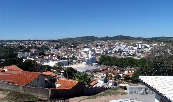 Uma das vistas da cidade que podemos admirar quando estamos no Mirante